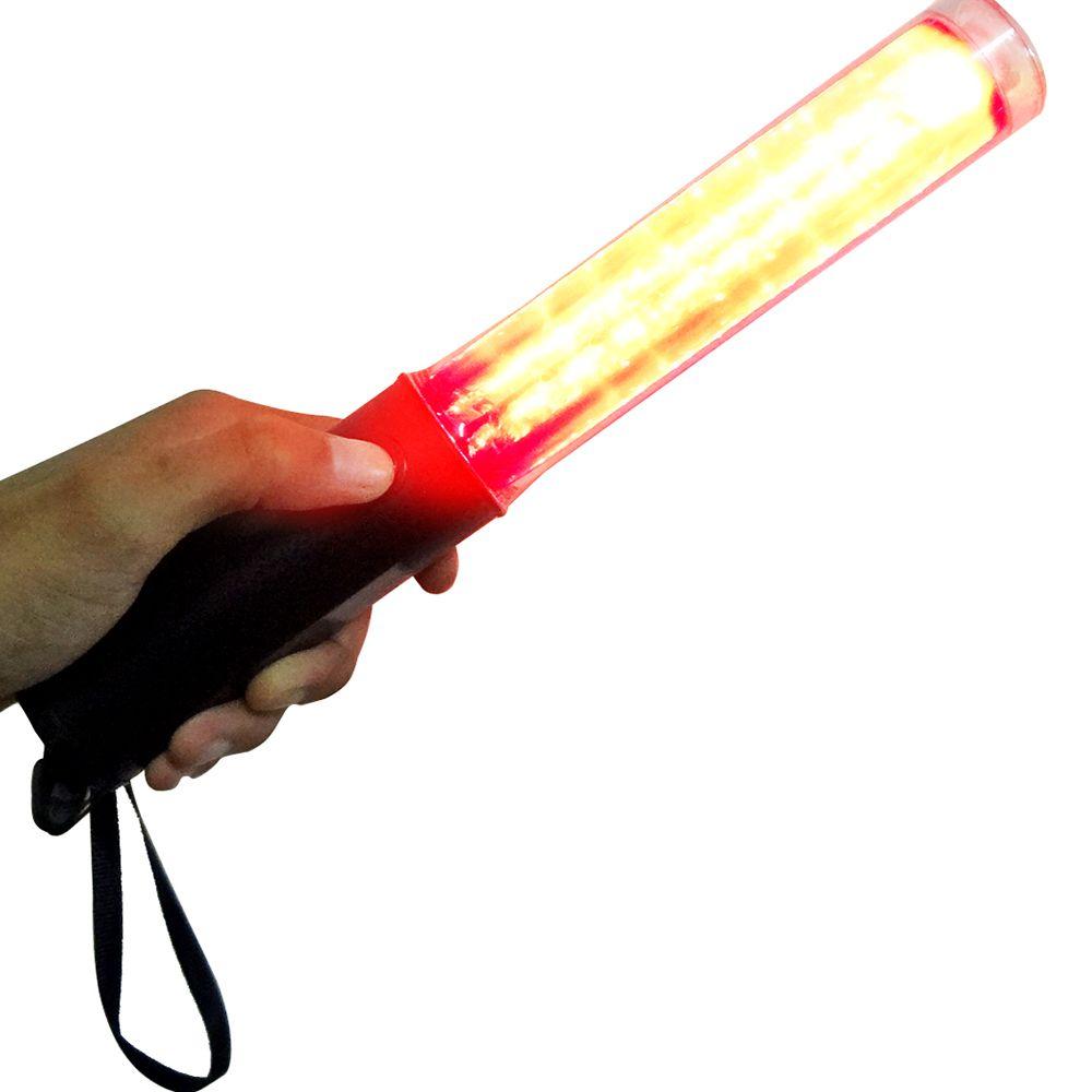 Sinalizador Bastao Balizador Lanterna Transito Estacionamento Festa