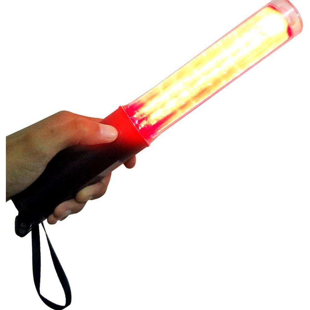 Sinalizador Bastao Balizador Lanterna Transito Estacionamento Festa 30 unidades