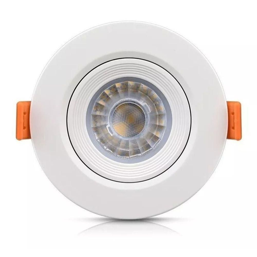 Spot de Led Lampada 3 Funçoes Morna Fria Bivolt Iluminação Retro Vintage Casa 35W
