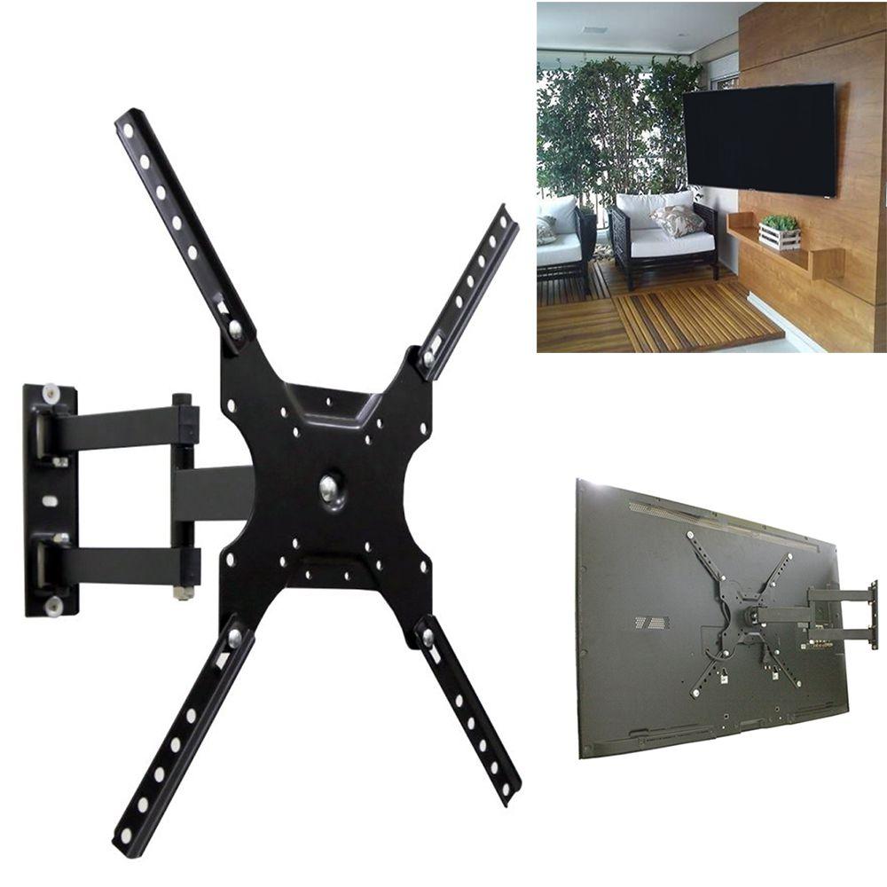 Suporte Tv Articulado Universal Monitor 14 a 55 Polegadas Até 50kg Parede