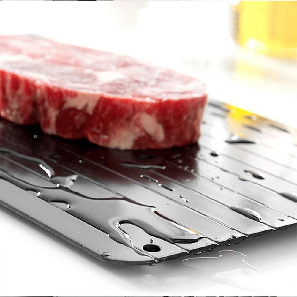 Tabua Descongelamento Carnes Rapido Alimentos Bandeja Grande Natural