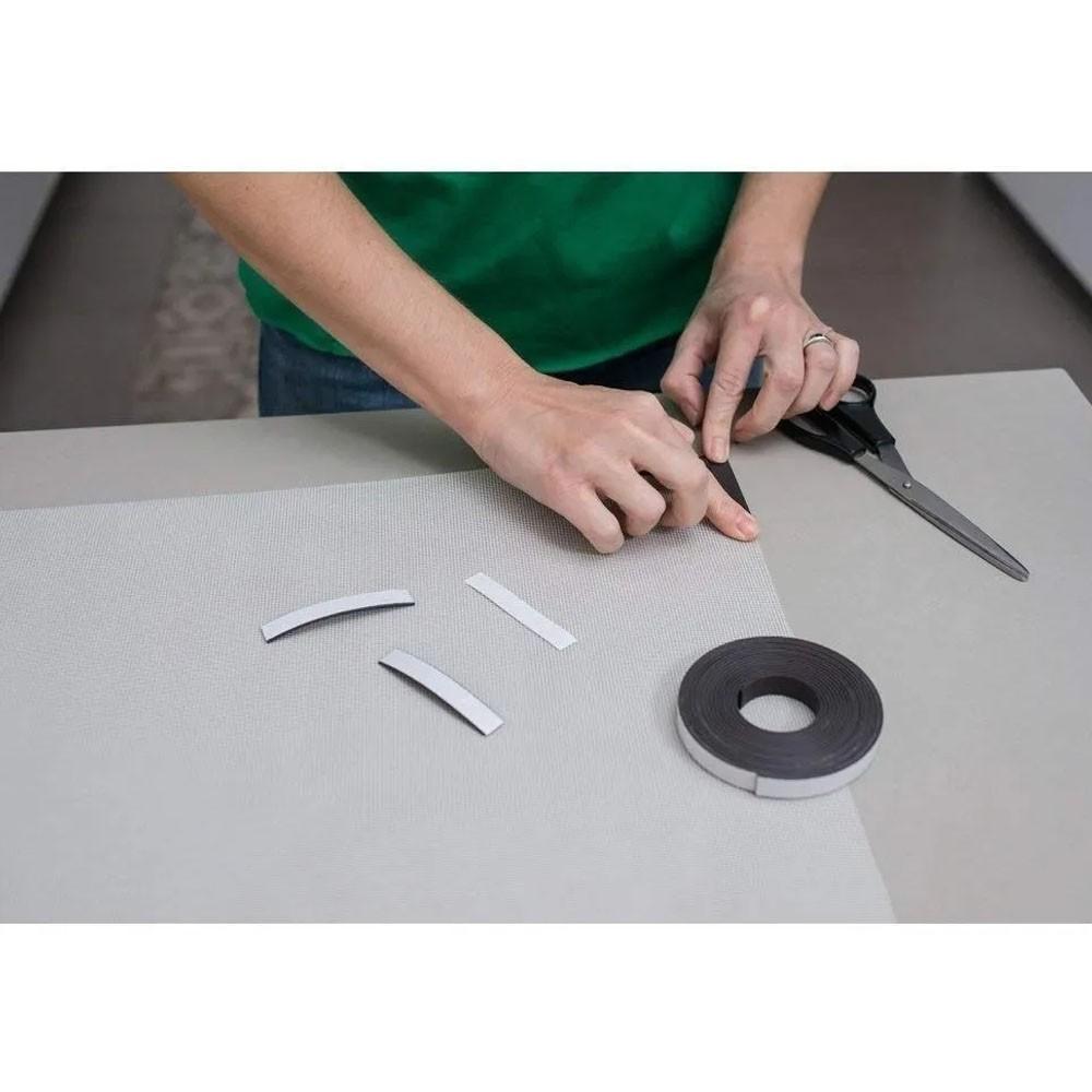 Tela Cortina Magnetica Mosquiteiro Dengue Janela Facil Instalação Ima Ajustavel 150X180
