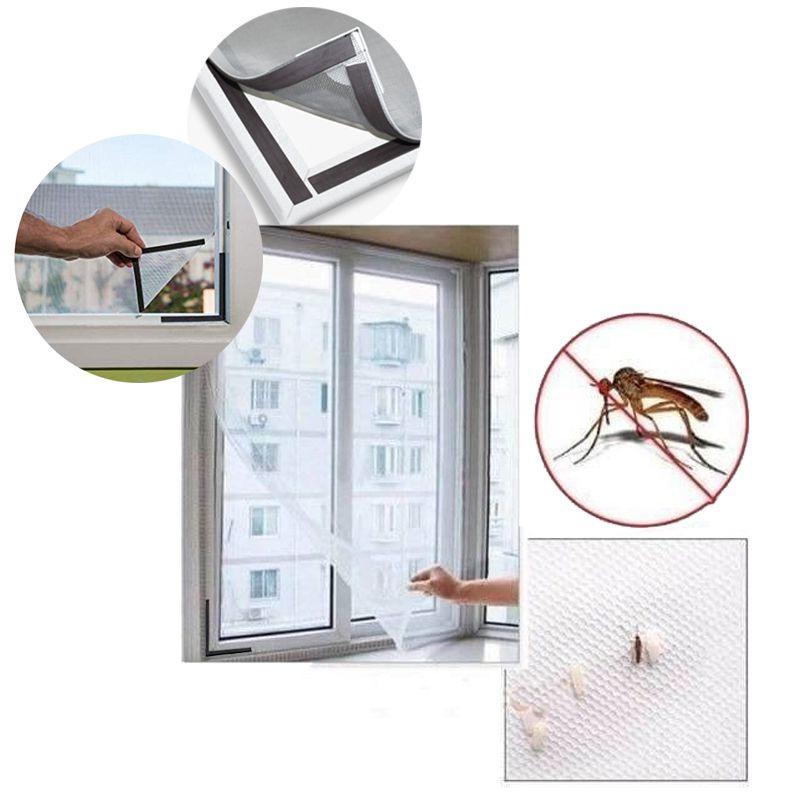 Tela Cortina Mosquiteiro Janela Com Ímã Fácil Instalação Dengue Zika Casa Proteçao Insetos