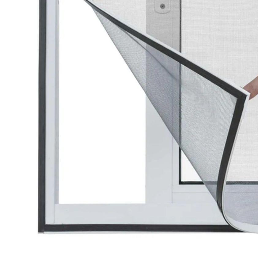 Tela Cortina Mosquiteiro Dengue Magnetico Janela Facil Instalação Kit 3 Uni Casa Proteçao