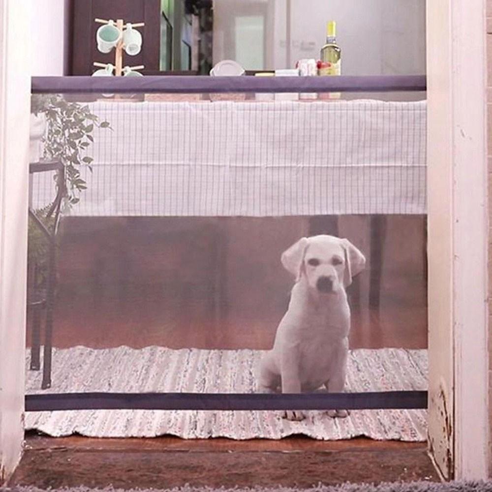 Tela Grade De Porta Cachorro Pet Caes Cao Bebe Gato Crianças Parede