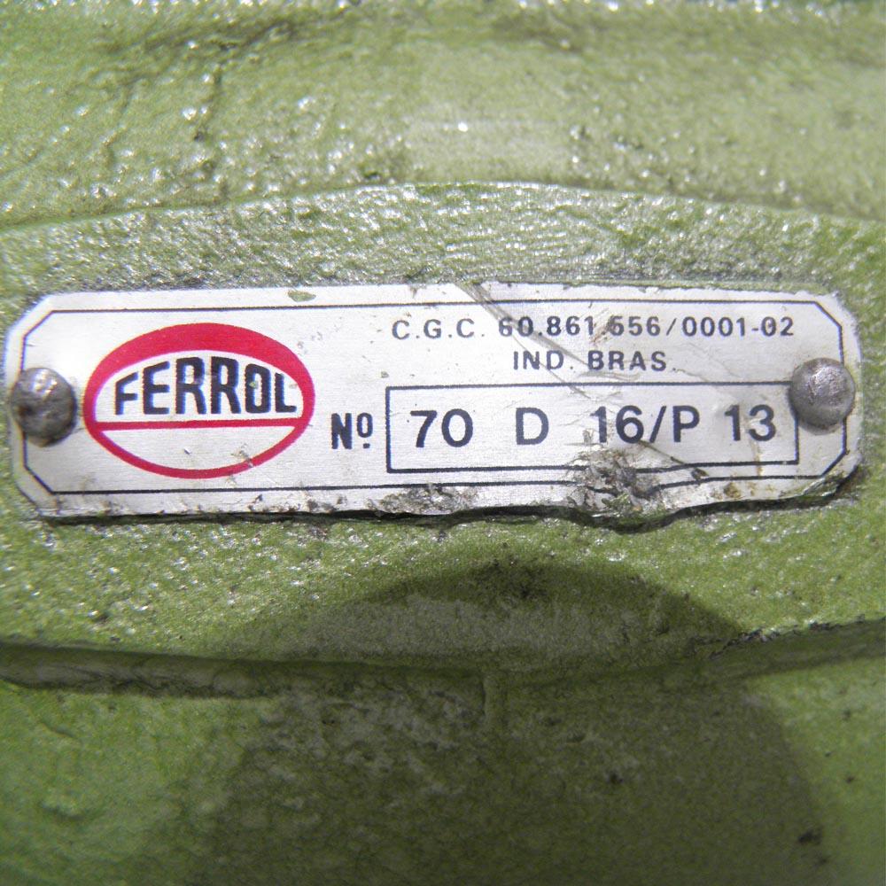 Tomada Força Ferrol Serie 70 D16E13 R70/11 151324