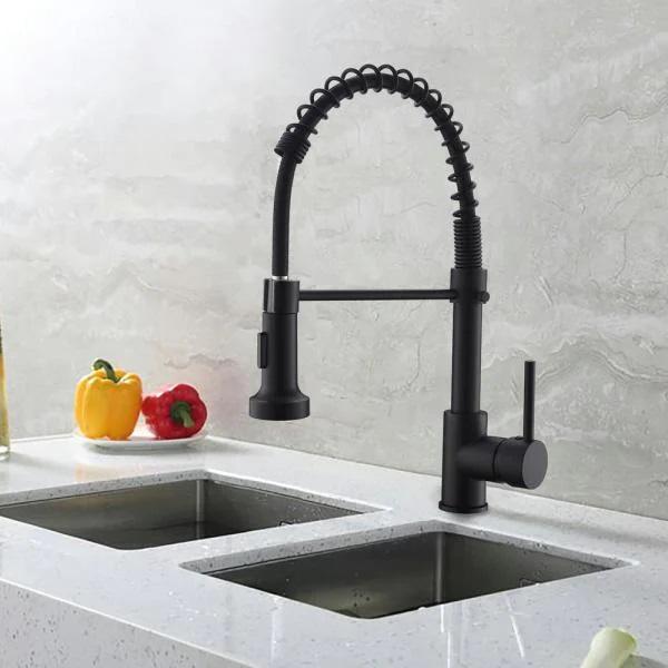 Torneira Gourmet Retratil Misturador Monocomando Cozinha Agua Quente Frio
