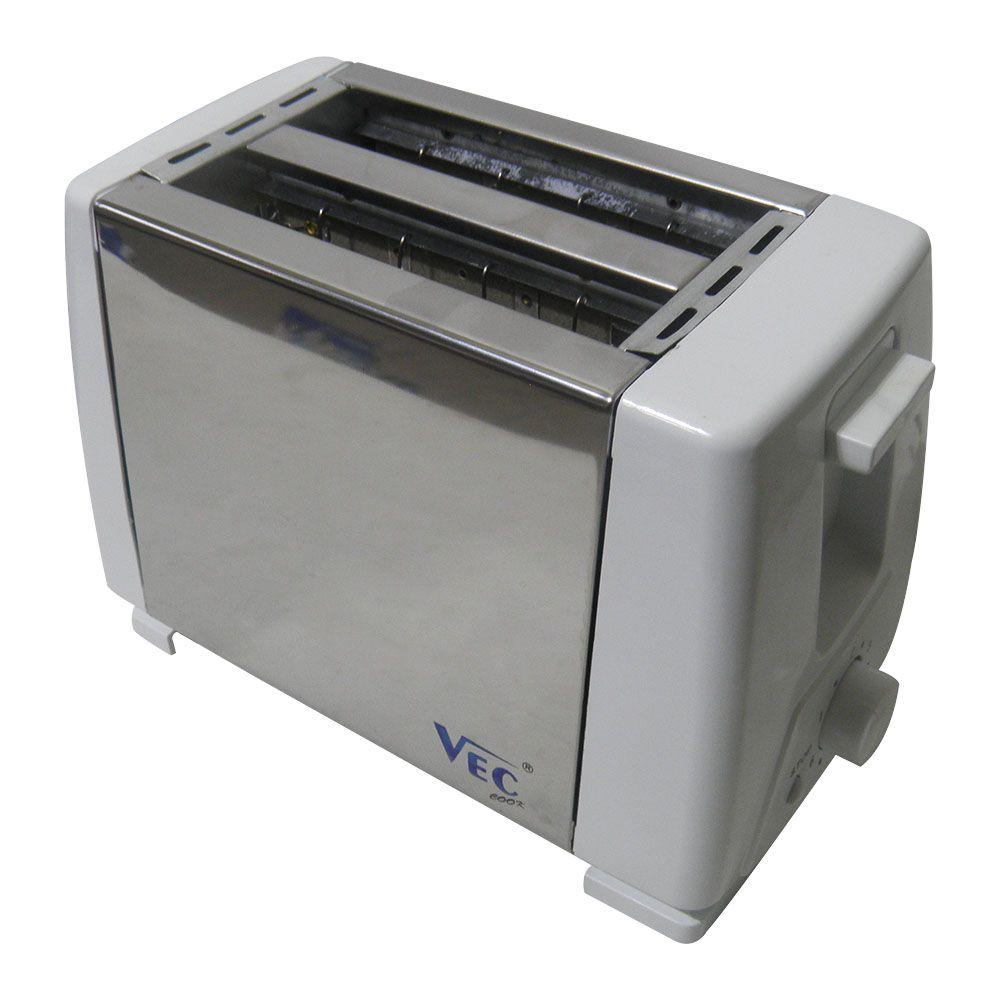 Torradeira Eletrica 2 fatias 6 niveis cozinha tostador pão 220V