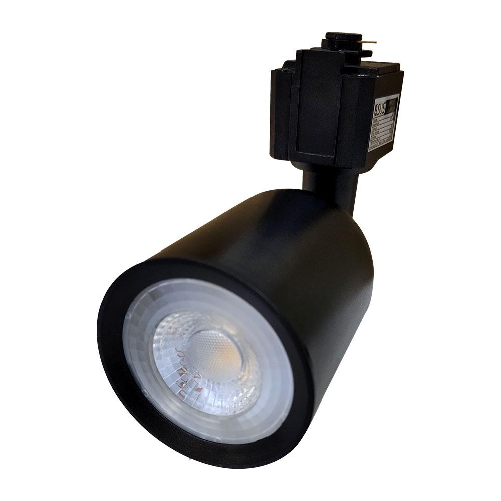 Trilho Eletrificado Kit 3 Spot de Led 1m Iluminação Decoração Casa Luz