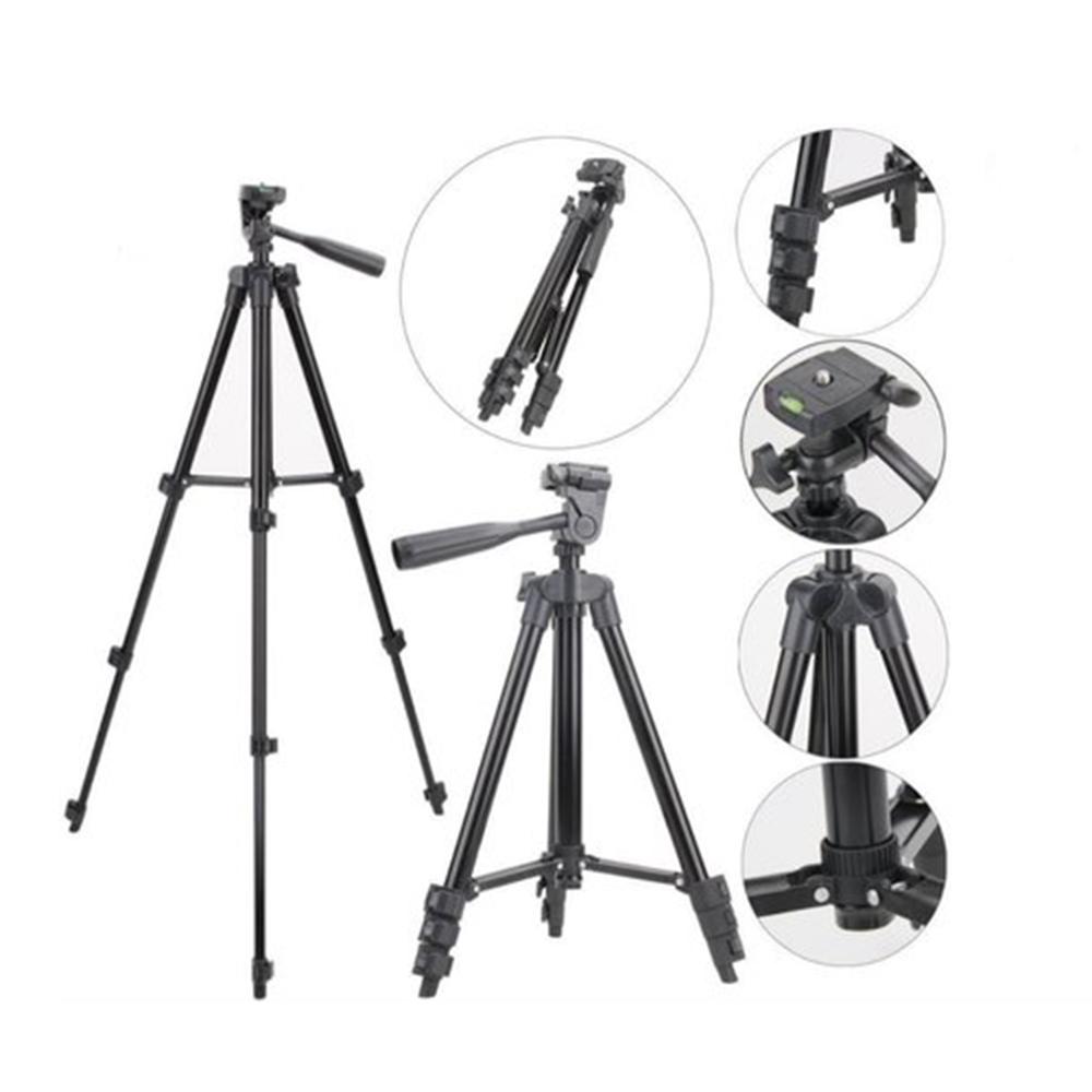Tripe Universal Telescopico  Camera Celular Suporte Portatil Fotografico Profissional Aluminio