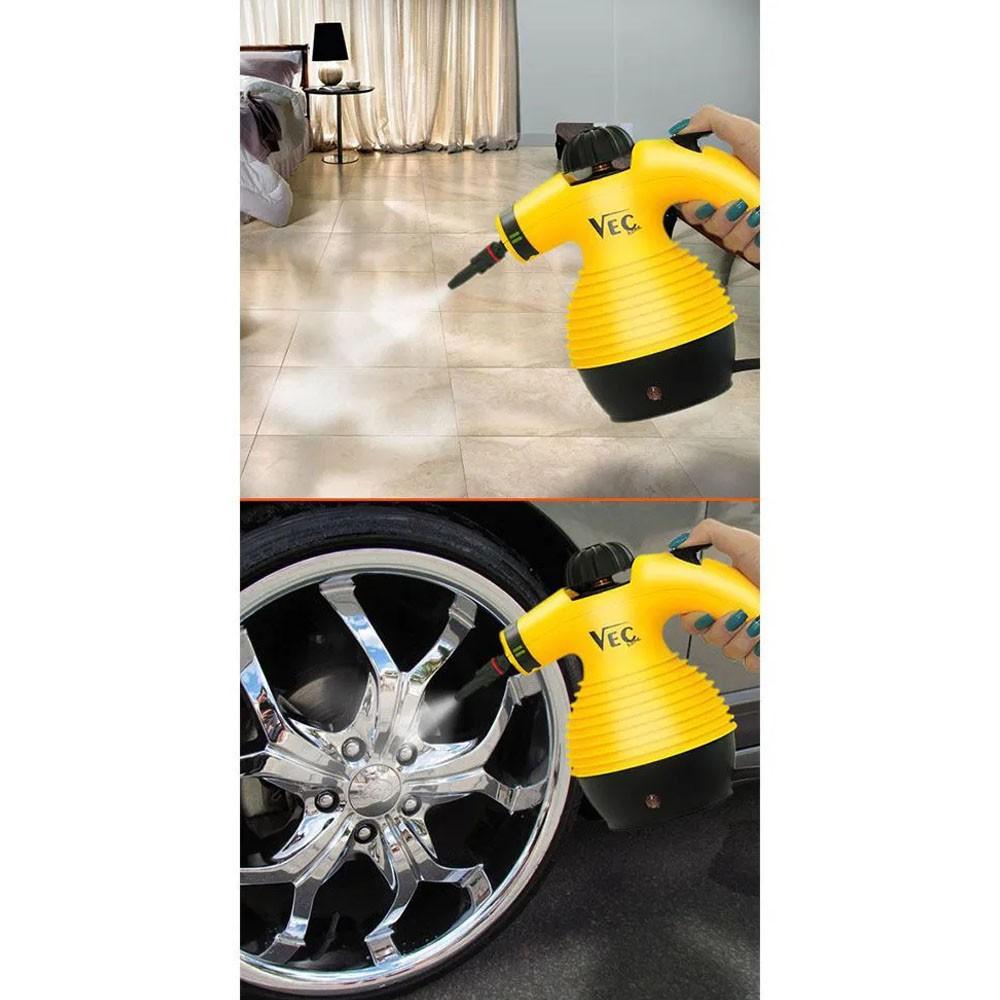 Vaporizador de Limpeza Portatil Higienizador Casa Roupas Sofa Estofado Agua 220V