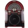 Caixa de Som Retrô TRC 210 Vermelha 35W RMS Bluetooth