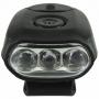 Lanterna de Boné Echolife Hatlight 3 Leds Preto LA0024