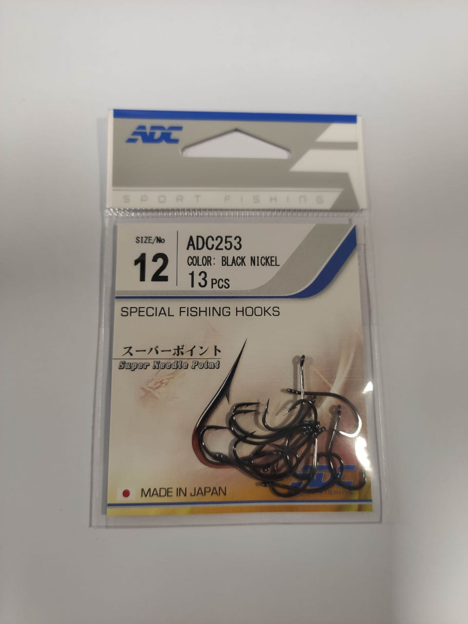Anzol ADC - 253 - Black Nickel