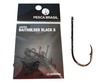 Anzol Baitholder Black - PESCA BRASIL