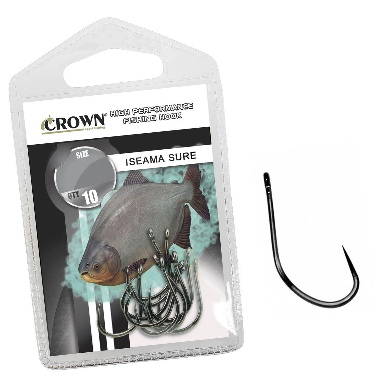 Anzol Crown Iseama Sure Black Ideal para Pesqueiros