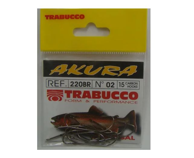 Anzol Trabucco Akura - Cartela C/ 15 Anzóis