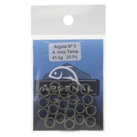 Split Ring Aço Inox  - ARSENAL PESCA