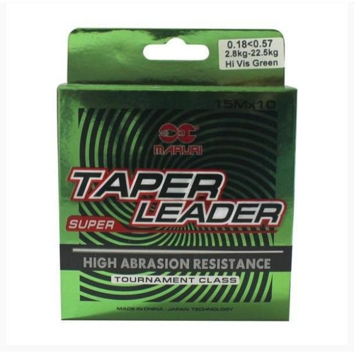Arranque Progressivo Taper Leader  0,18 – 0,57mm - MARURI