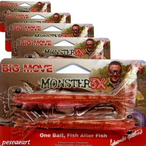 Camarão Monster 3X Big Move 14cm