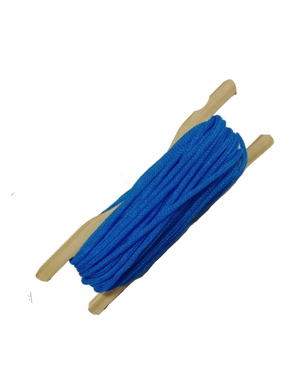 Carretel De Corda Para Caique Com 20m de Corda - Madeira