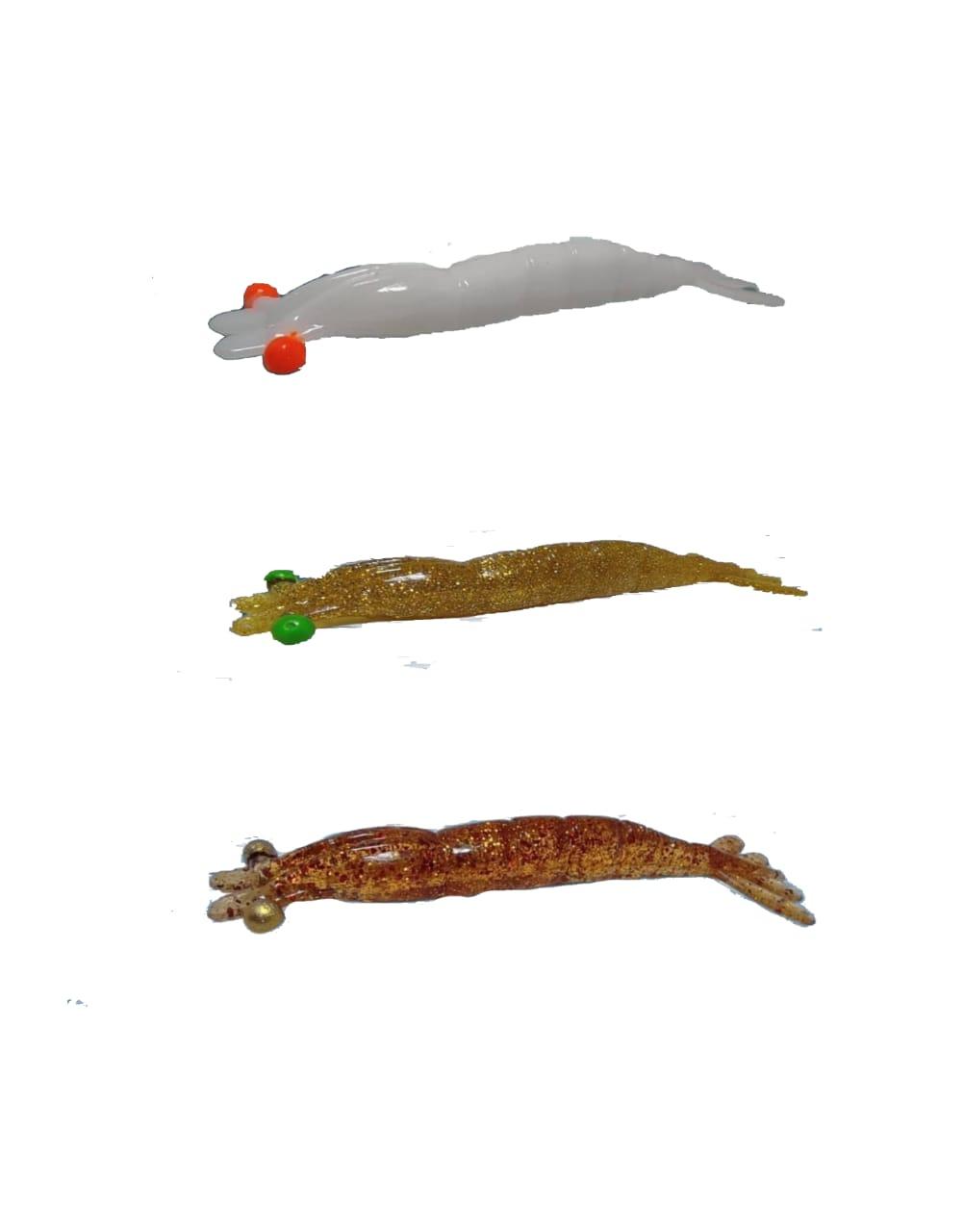 Isca Artificial Camarão Kruel 14,5cm