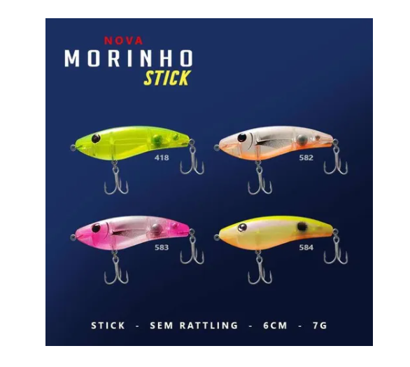 Isca Artificial Morinho Stick (6cm 7g) Moro Deconto