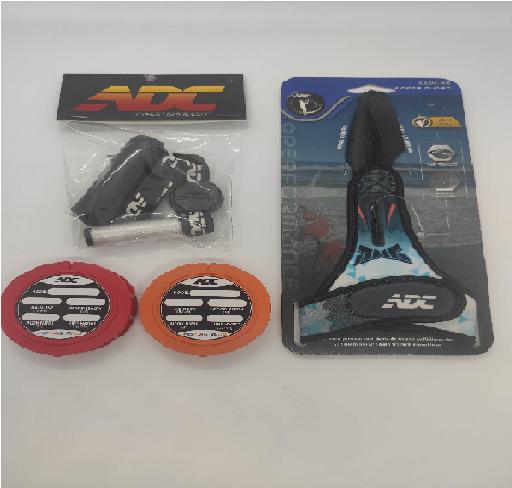 Kit ADC - Dedeira + Porta Elástico + 2un. Porta Chicote