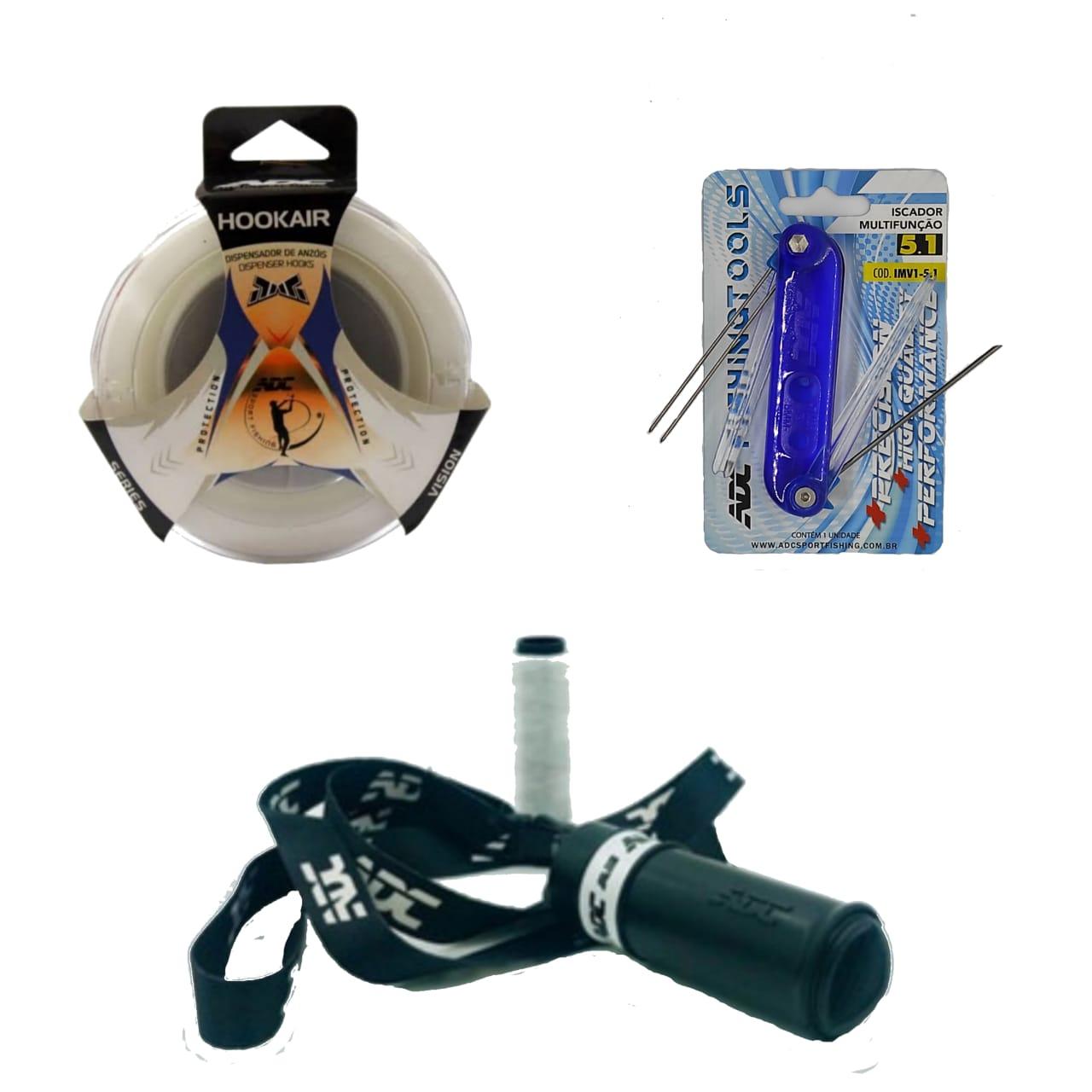 Kit ADC - Hookair + Iscador + Porta Elastico