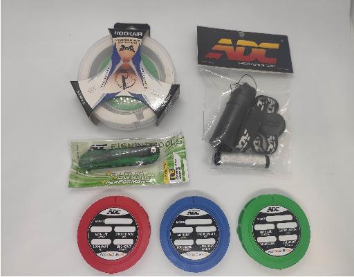 Kit ADC - Hookair + Porta Elástico + Iscador 2.1 + 3un Porta Chicote