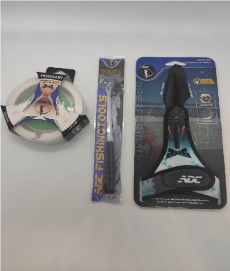 Kit ADC - Hookair + Saca Anzol + Dedeira