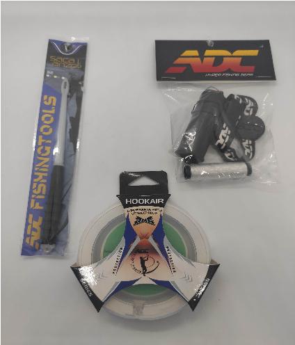 Kit ADC - Saca Anzol desembuchador + Porta Elástico + Hookair