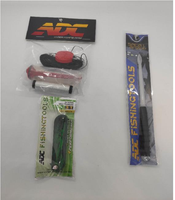 Kit ADC - Saca Anzol + Porta Elástico + Iscador 2.1