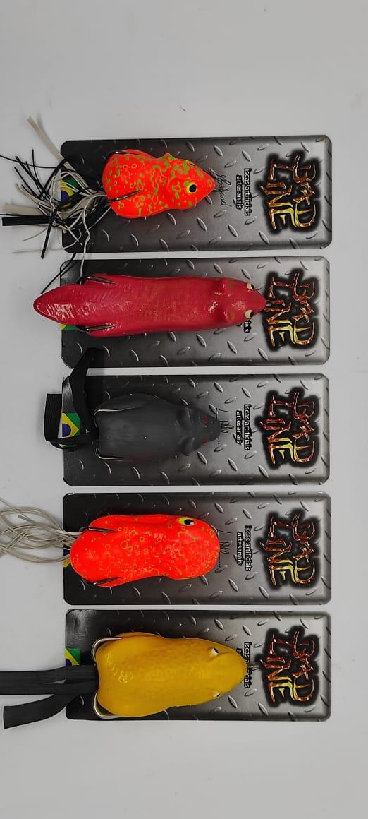 Kit Pesca Traira - 5 Iscas Bad Line (cores e Modelos sortidos)