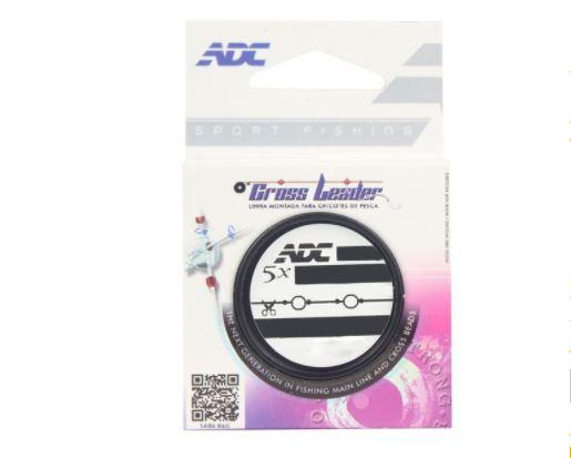 Linha Cross Leader ADC 0.60MM 5X135CM Rotor 4.0MM