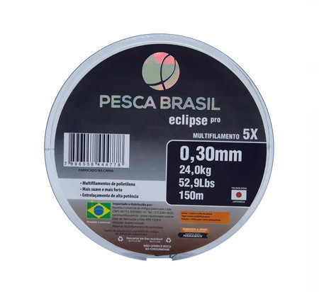 Linha Eclipse Pro 5x 150 M - PESCA BRASIL
