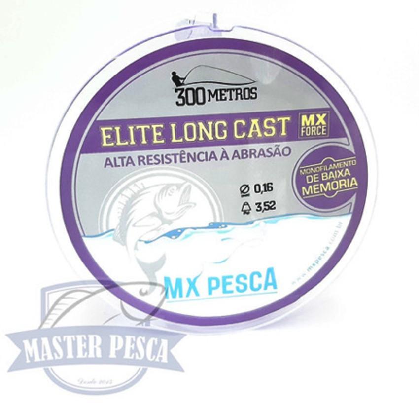 Linha Elite Long Cast 300m MX PESCA - Roxo