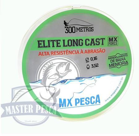 Linha Elite Long Cast 300m MX PESCA - Verde