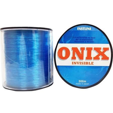 Linha Monofilamento Onix Invisible Azul 500 M - FASTLINE