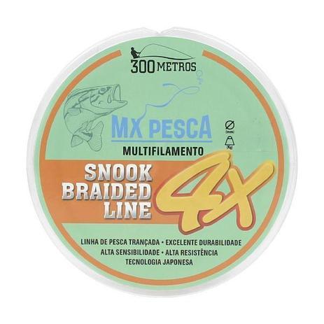 Linha Multifilamento Mx Pesca 0,04mm