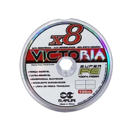 Linha Multifilamento x8 100M - VICTORIA