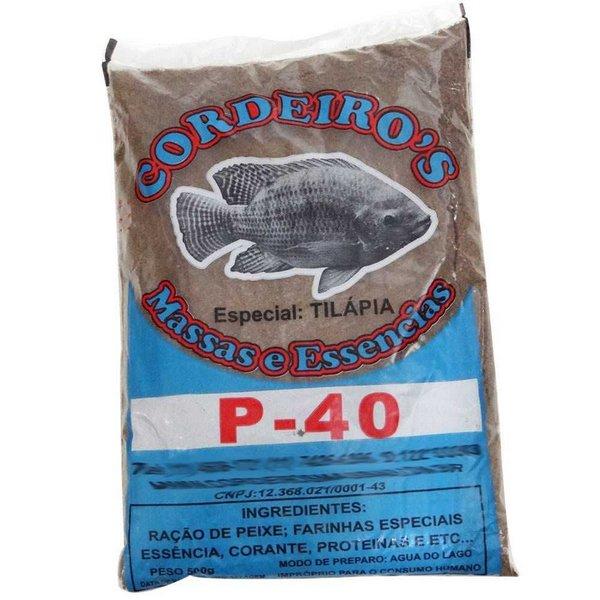 Massa para pesqueiro (tamba, carpa, tilápia, pacu e outros)
