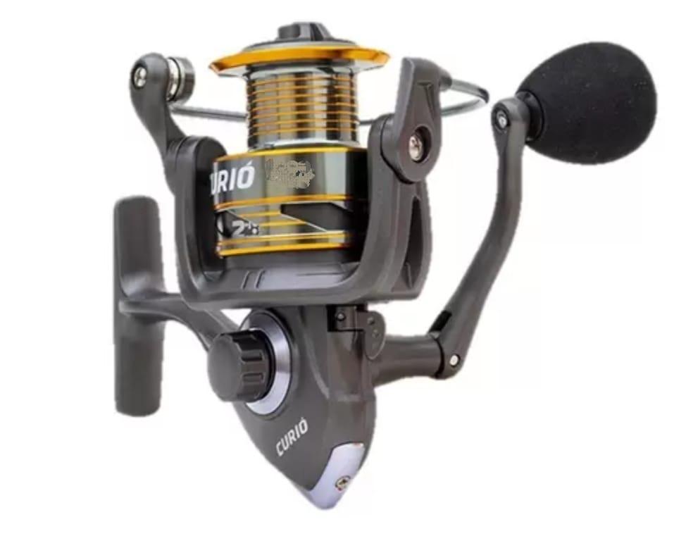 Molinete Albatroz Fishing Curió 60 Alumínio - 3 Rolamentos