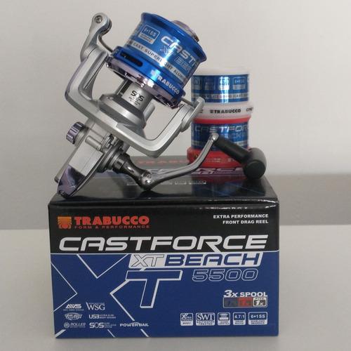 Molinete Long Cast Trabucco CastForce XT Beach 5500