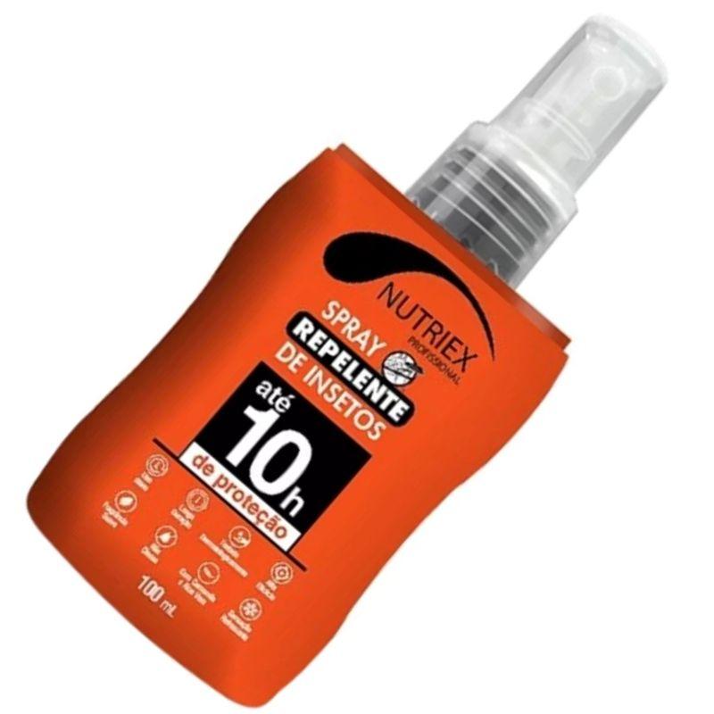 Repelente de Insetos Spray Até 10 Horas Nutriex 100ml