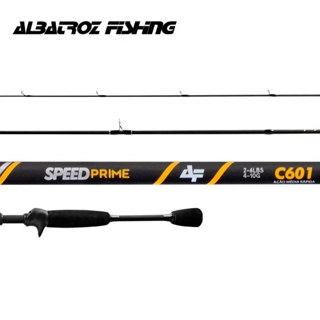 Vara Albatroz Fishing Speed Prime -1,82m - C601- 2-6lb (Carretilha)