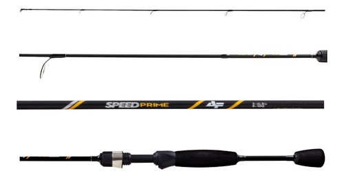 Vara Albatroz Fishing Speed Prime -1,82m - S601- 6-10lb (Molinete)