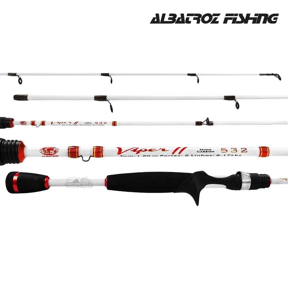 Vara Albatroz Fishing  ViperII - 561 - 1.68m - 10-20Lbs