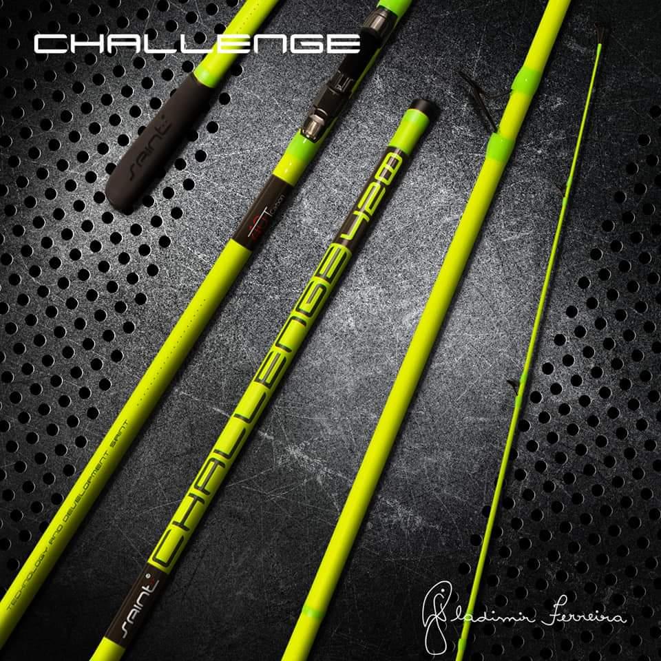 Vara Challenge Saint  Verde Neon 4,20m