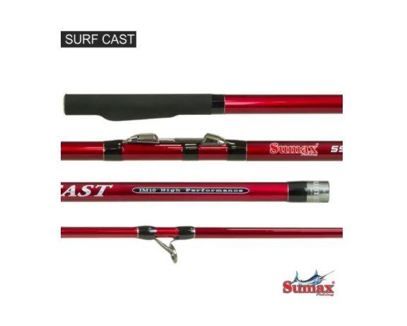 Vara Sumax Surf Cast 4,20m 3 Partes
